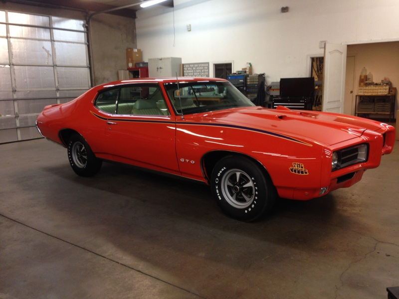 1969 PONTIAC GTO JUDGE 2 DOOR COUPE - Front 3/4 - 161894