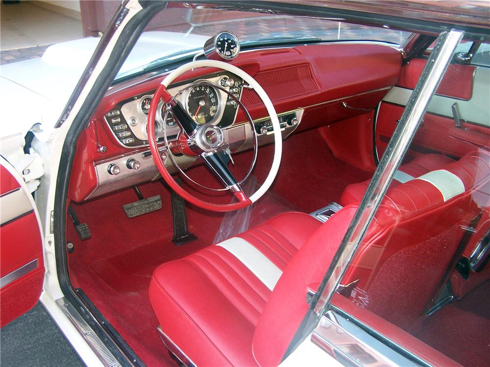 1963 PLYMOUTH SPORT FURY MAX WEDGE RE-CREATION - Interior - 161902
