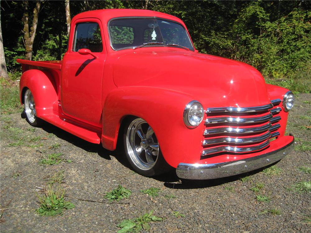 1953 GMC 1/2 TON CUSTOM PICKUP - Front 3/4 - 161907