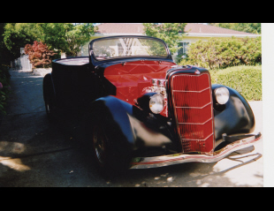 1935 FORD PHAETON CUSTOM 2 DOOR ROADSTER -  - 16191