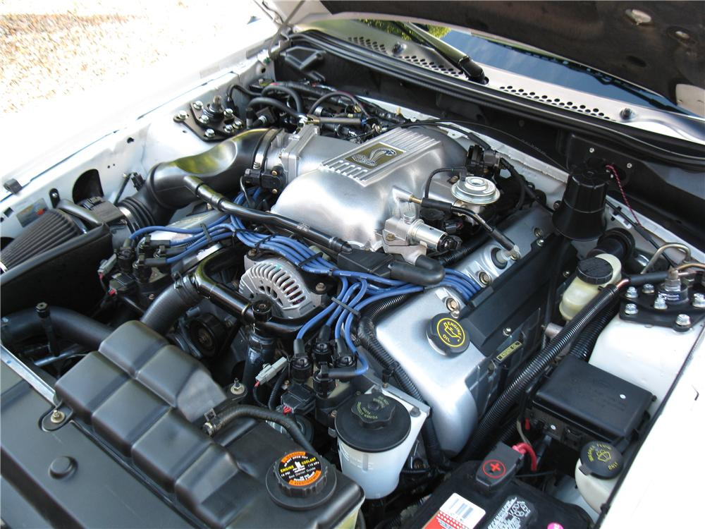 1998 FORD MUSTANG COBRA CONVERTIBLE - Engine - 161914