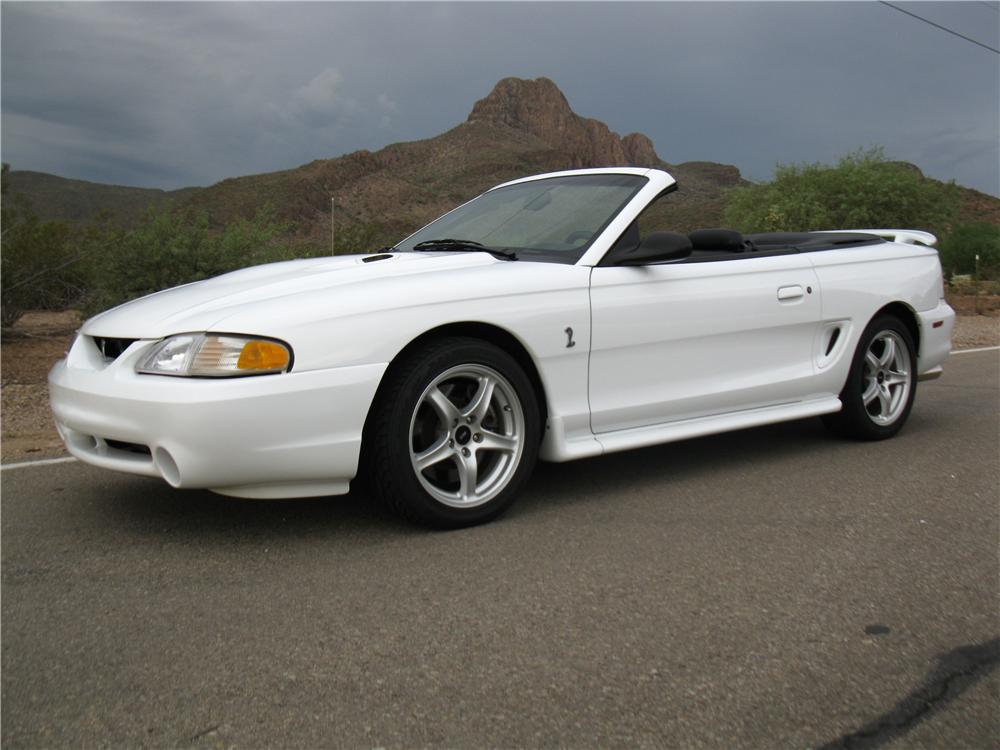 1998 Ford Mustang Cobra Convertible 161914