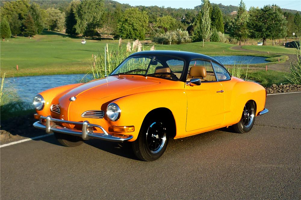 1970 VOLKSWAGEN KARMANN GHIA CUSTOM 2 DOOR COUPE - Front 3/4 - 161918