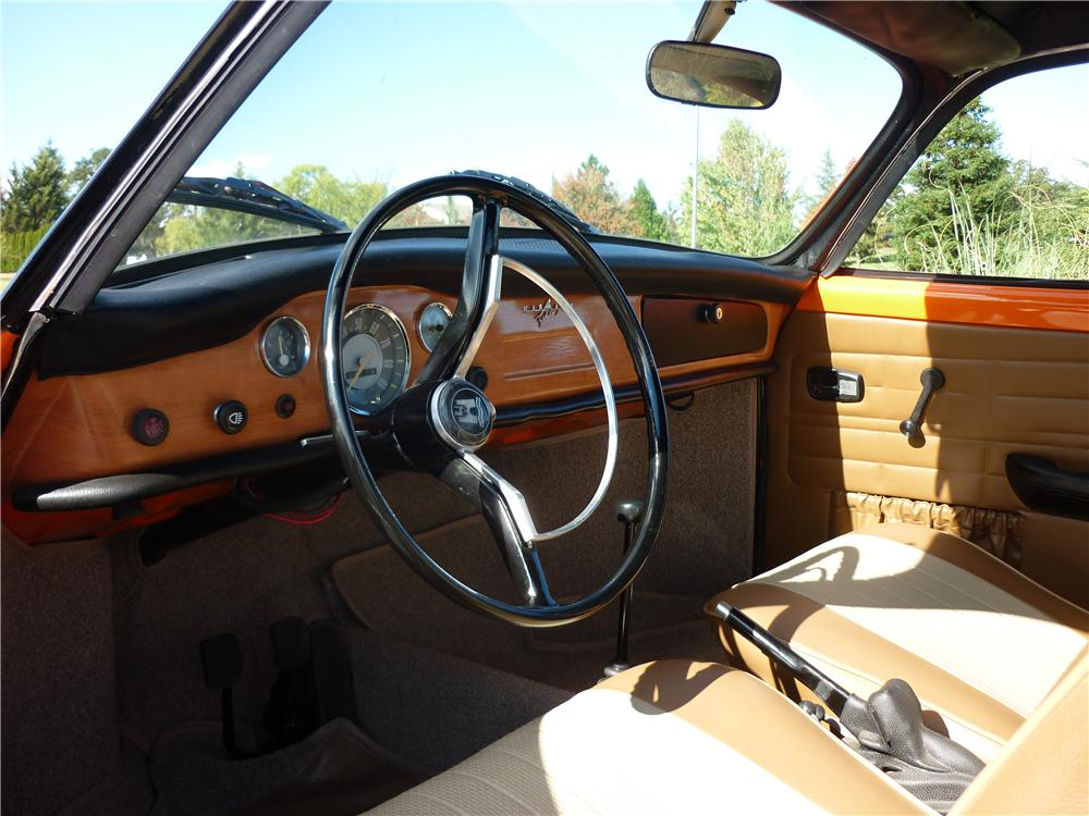 1970 VOLKSWAGEN KARMANN GHIA CUSTOM 2 DOOR COUPE - Interior - 161918