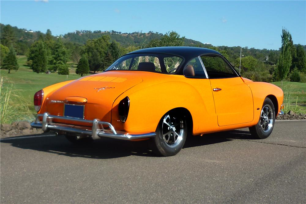 1970 VOLKSWAGEN KARMANN GHIA CUSTOM 2 DOOR COUPE - Rear 3/4 - 161918