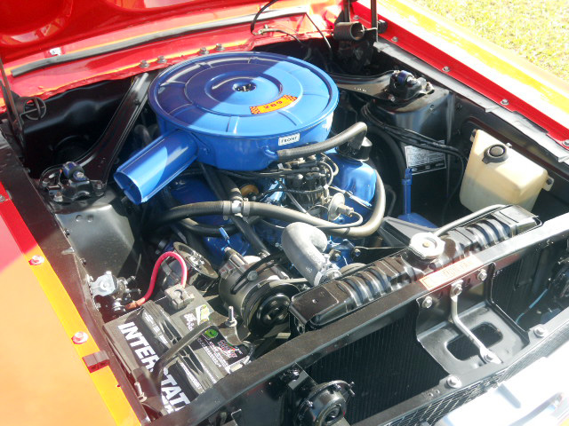 1967 FORD MUSTANG CONVERTIBLE - Engine - 161920