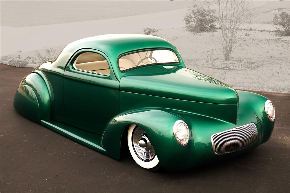 1941 WILLYS AMERICAR CUSTOM COUPE - Front 3/4 - 161922
