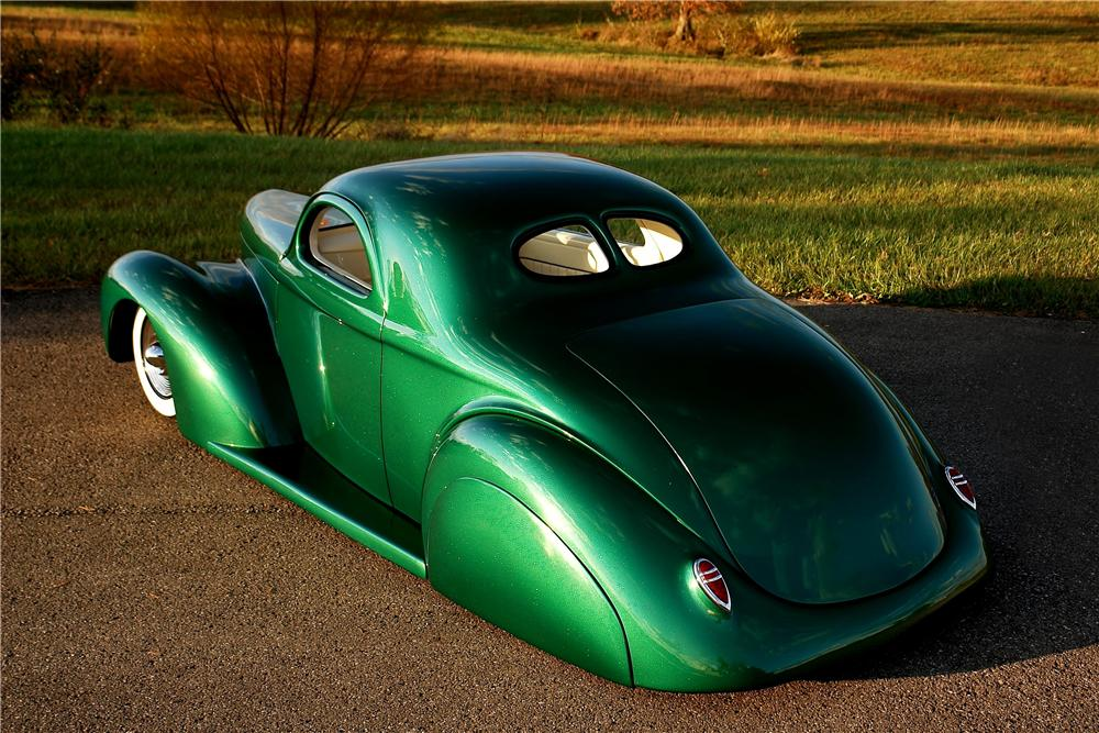 1941 WILLYS AMERICAR CUSTOM COUPE - Rear 3/4 - 161922