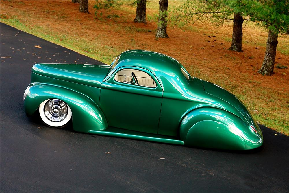 1941 WILLYS AMERICAR CUSTOM COUPE - Side Profile - 161922