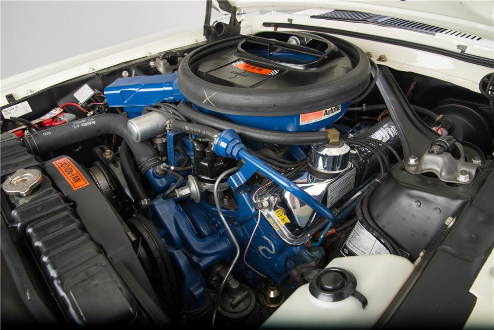1968 FORD MUSTANG GT 428 CJ FASTBACK - Engine - 161924