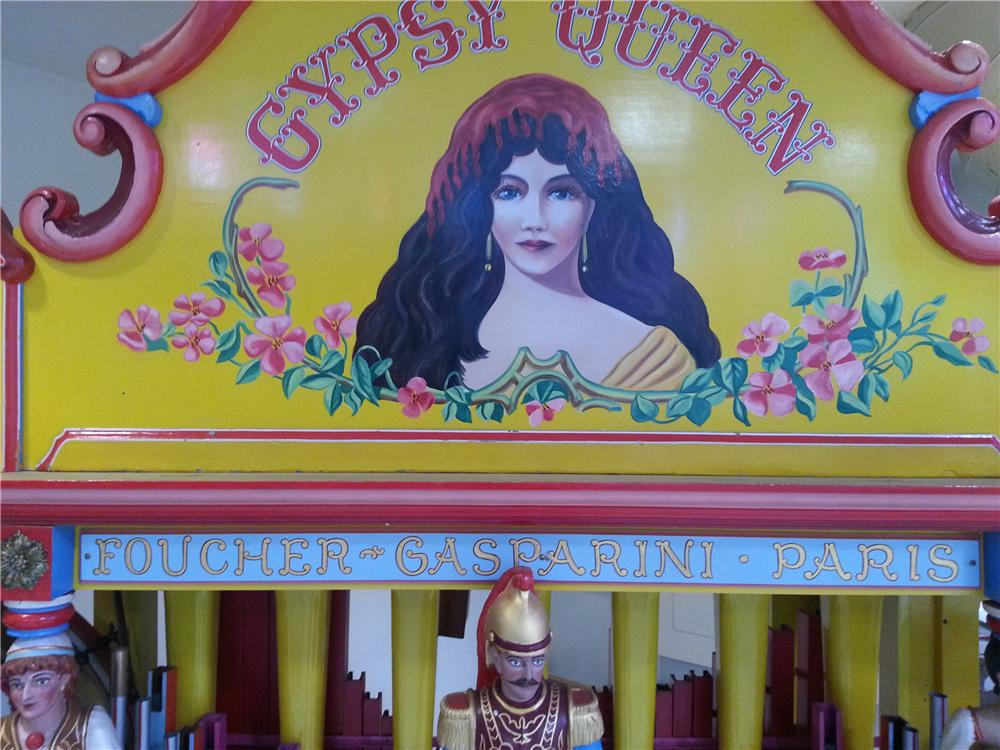 "1865 GASPARINI ""GYPSY QUEEN"" CALLIOPE/ORGAN - Interior - 161925"