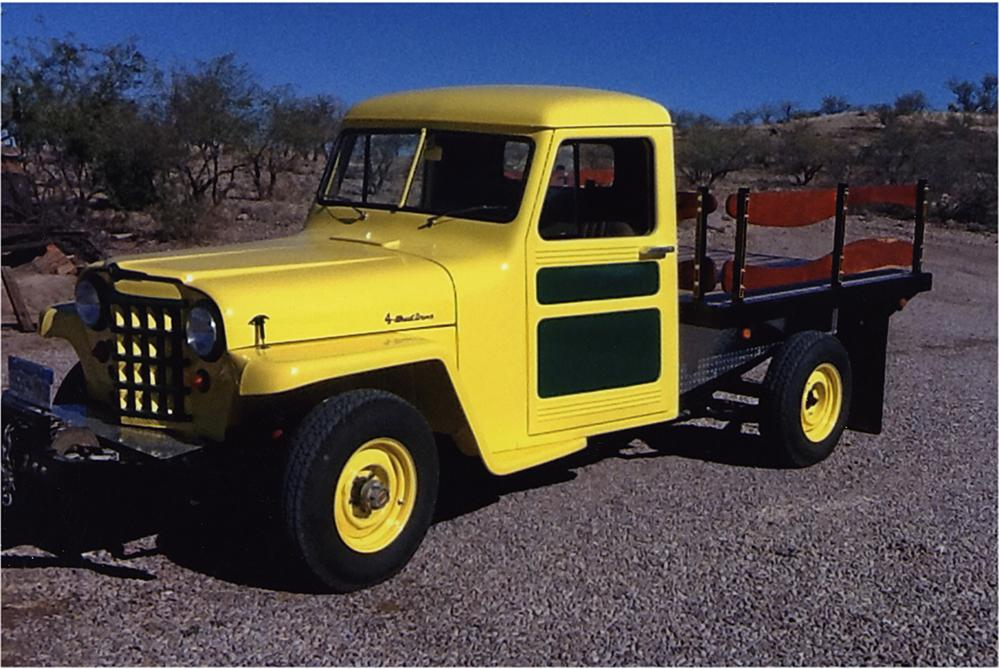 1953 WILLYS CUSTOM PICKUP - Front 3/4 - 161932