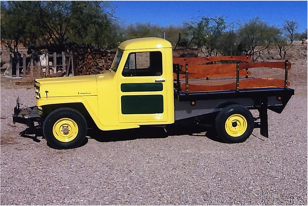 1953 WILLYS CUSTOM PICKUP - Side Profile - 161932