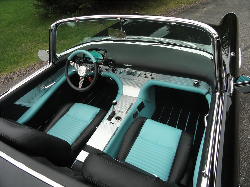 1955 FORD THUNDERBIRD CUSTOM CONVERTIBLE - Interior - 161934