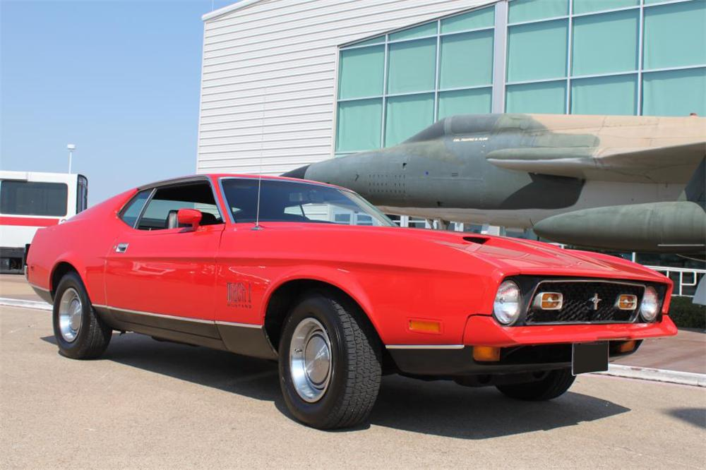 1971 FORD MUSTANG MACH 1 FASTBACK - Front 3/4 - 161938