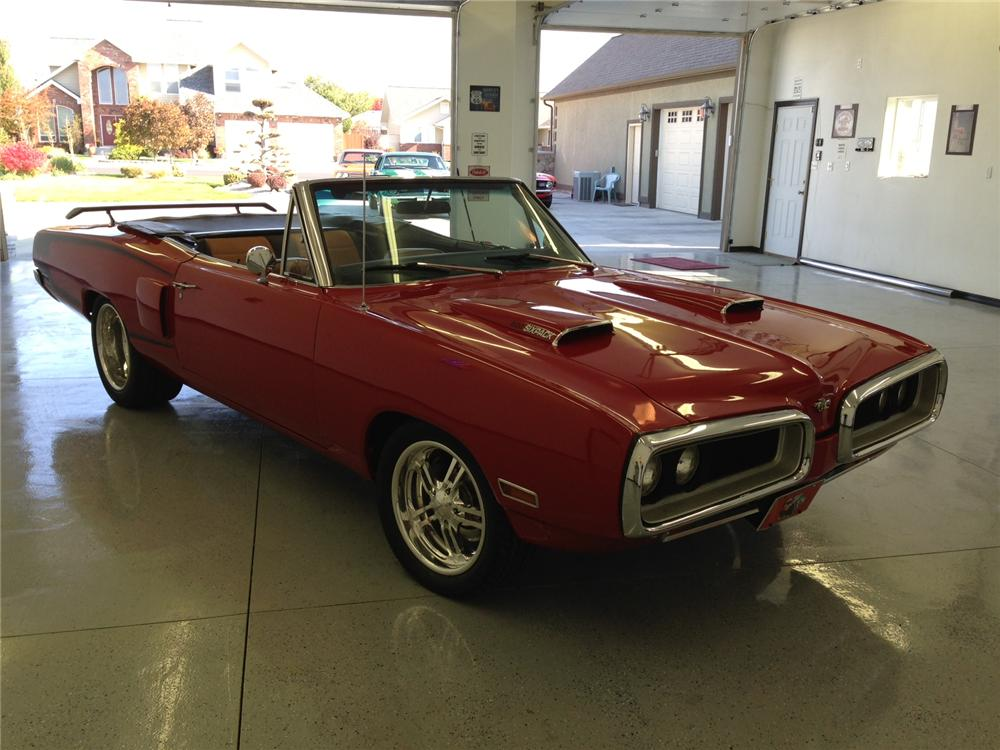 1970 DODGE CORONET 500 CUSTOM CONVERTIBLE - Front 3/4 - 161945