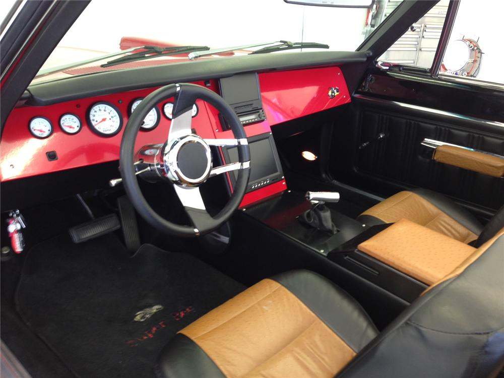 1970 DODGE CORONET 500 CUSTOM CONVERTIBLE - Interior - 161945
