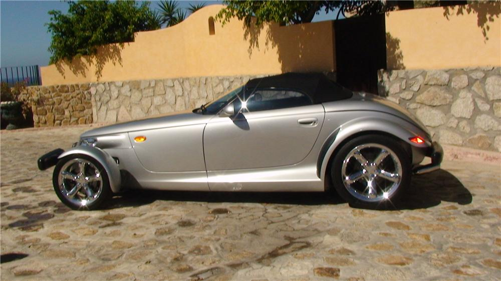 2000 PLYMOUTH PROWLER CONVERTIBLE - Side Profile - 161954