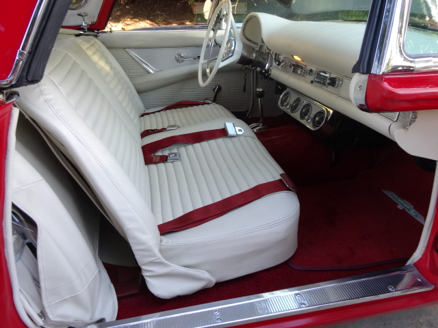 1957 FORD THUNDERBIRD E CONVERTIBLE - Interior - 161956