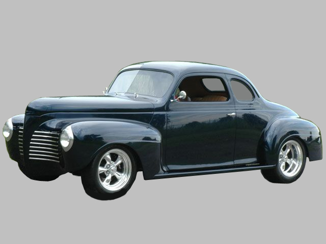 1940 PLYMOUTH CUSTOM 2 DOOR COUPE - Front 3/4 - 161962