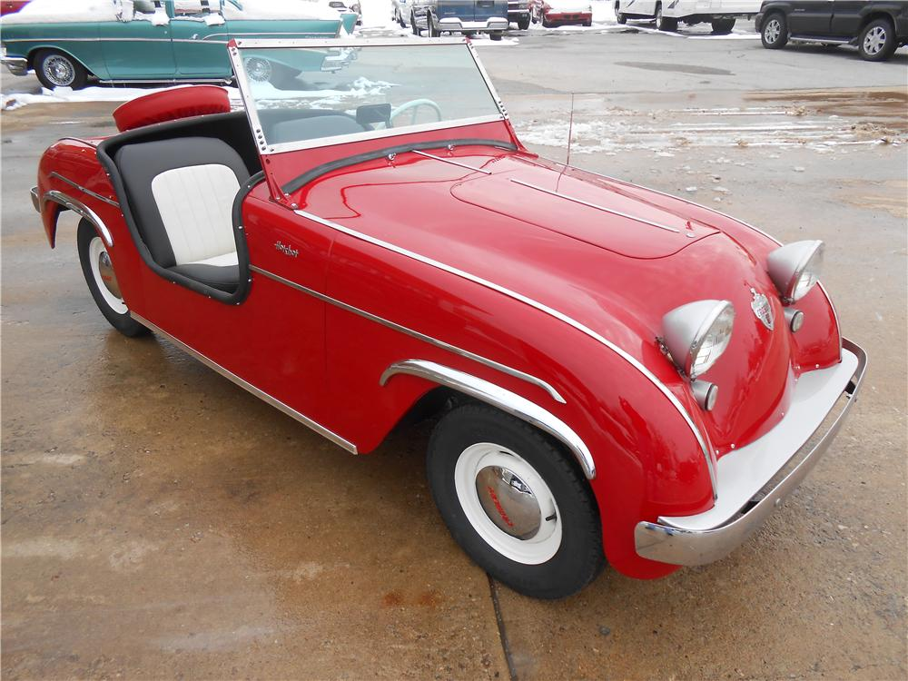1950 CROSLEY HOT SHOT CONVERTIBLE - Front 3/4 - 161968