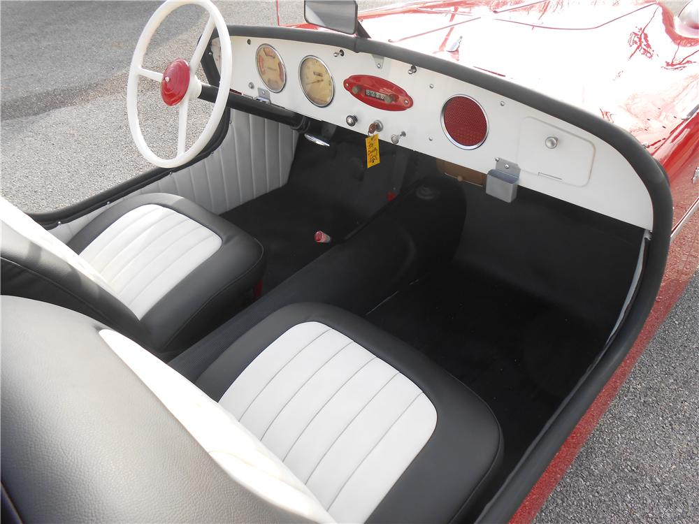 1950 CROSLEY HOT SHOT CONVERTIBLE - Interior - 161968