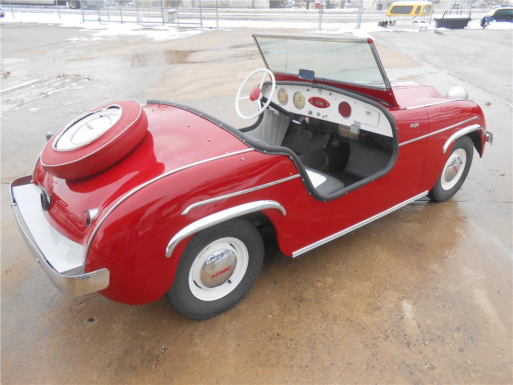 1950 CROSLEY HOT SHOT CONVERTIBLE - Rear 3/4 - 161968