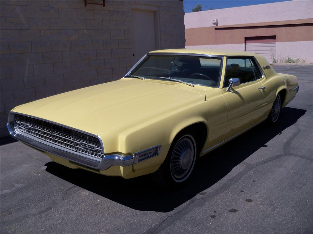 1968 FORD THUNDERBIRD 2 DOOR COUPE - Front 3/4 - 161970
