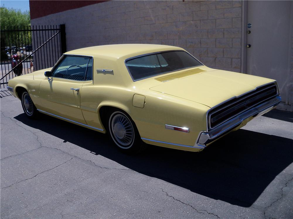 1968 FORD THUNDERBIRD 2 DOOR COUPE - Side Profile - 161970