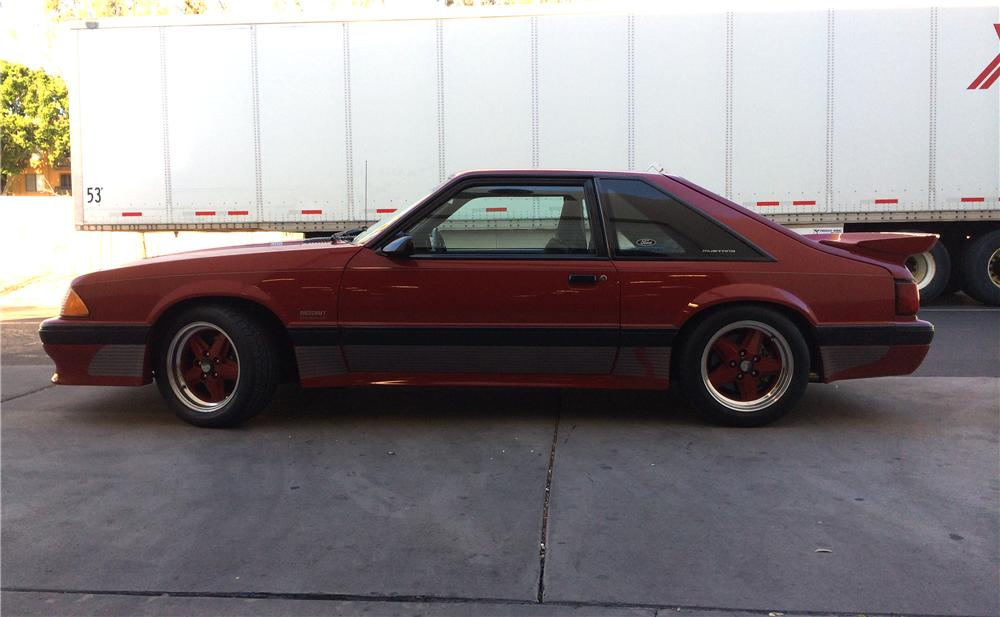 1988 FORD MUSTANG SALEEN 2 DOOR COUPE - Side Profile - 161972