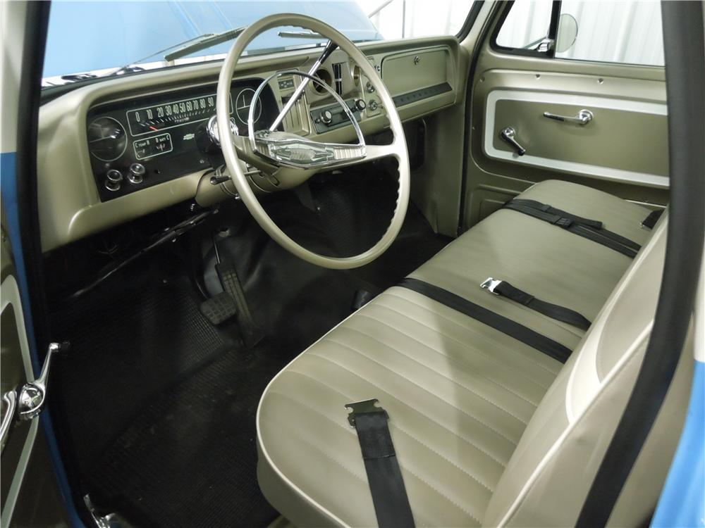 1965 CHEVROLET C-10 PICKUP - Interior - 161976