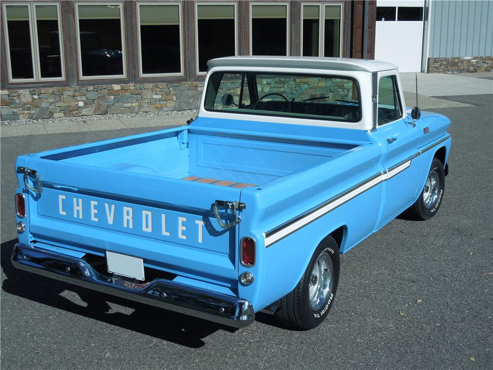 1965 CHEVROLET C-10 PICKUP - Rear 3/4 - 161976