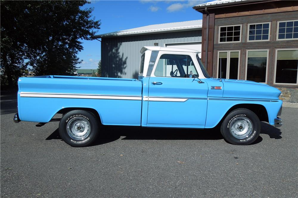 1965 CHEVROLET C-10 PICKUP - Side Profile - 161976