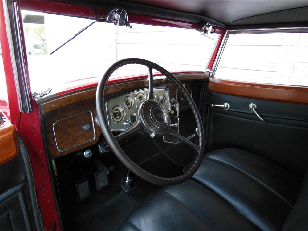 1934 PACKARD 1101 COUPE - Interior - 161982