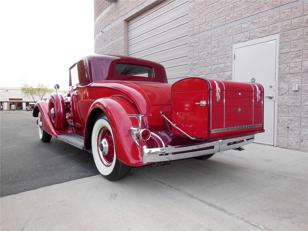 1934 PACKARD 1101 COUPE - Rear 3/4 - 161982