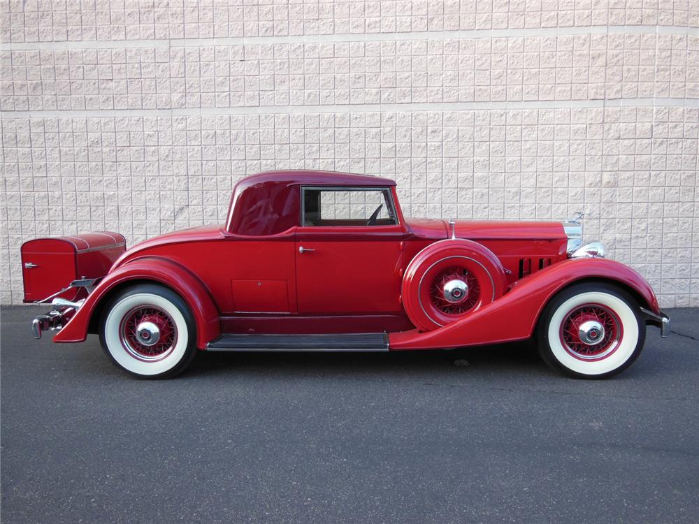 1934 PACKARD 1101 COUPE - Side Profile - 161982