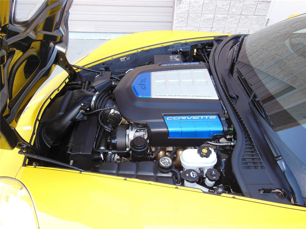2012 CHEVROLET CORVETTE ZR1 COUPE - Engine - 161983