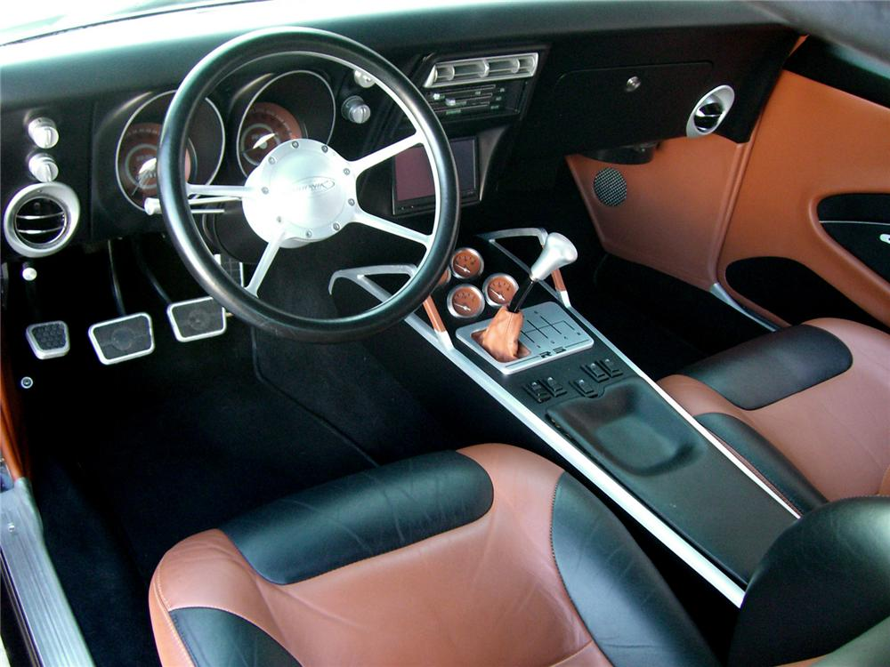 1967 CHEVROLET CAMARO CUSTOM CONVERTIBLE - Interior - 161984