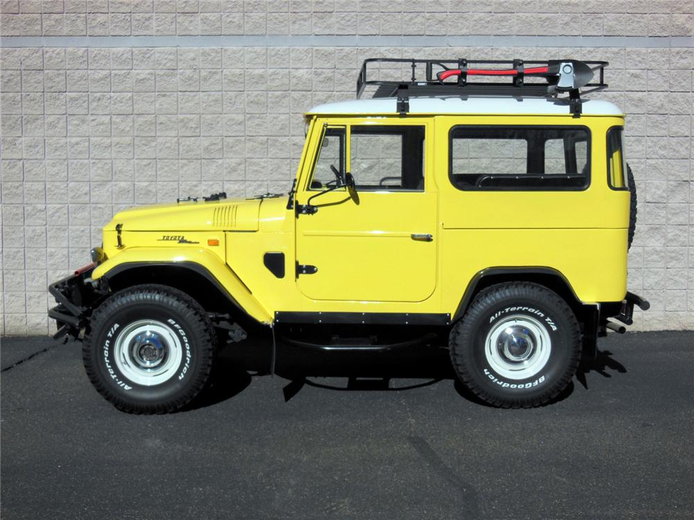 1969 TOYOTA LAND CRUISER FJ-40  - Side Profile - 161985