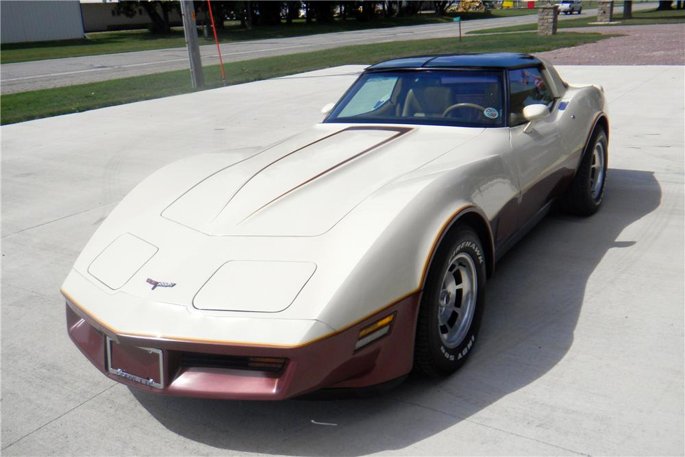 1981 CHEVROLET CORVETTE 2 DOOR COUPE - Front 3/4 - 161987