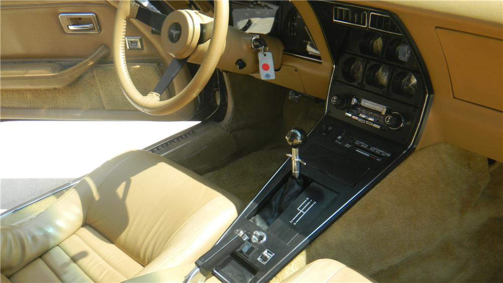1981 CHEVROLET CORVETTE 2 DOOR COUPE - Interior - 161987
