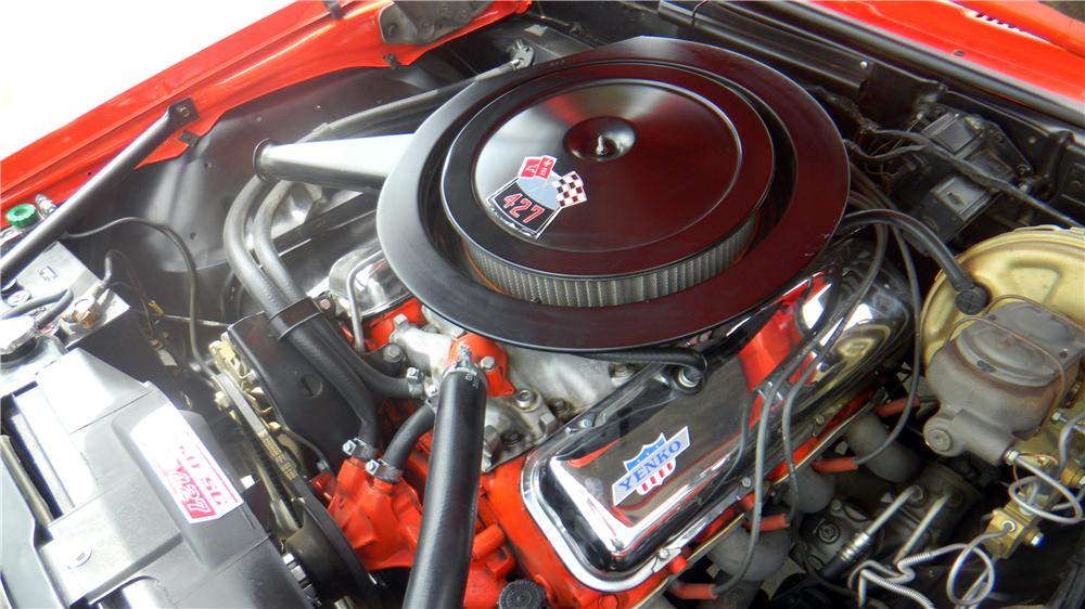 1969 CHEVROLET CAMARO YENKO RE-CREATION COUPE - Engine - 161991