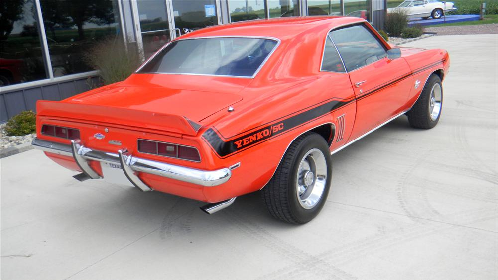 1969 CHEVROLET CAMARO YENKO RE-CREATION COUPE - Rear 3/4 - 161991