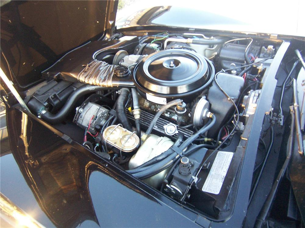 1978 CHEVROLET CORVETTE COUPE - Engine - 161992
