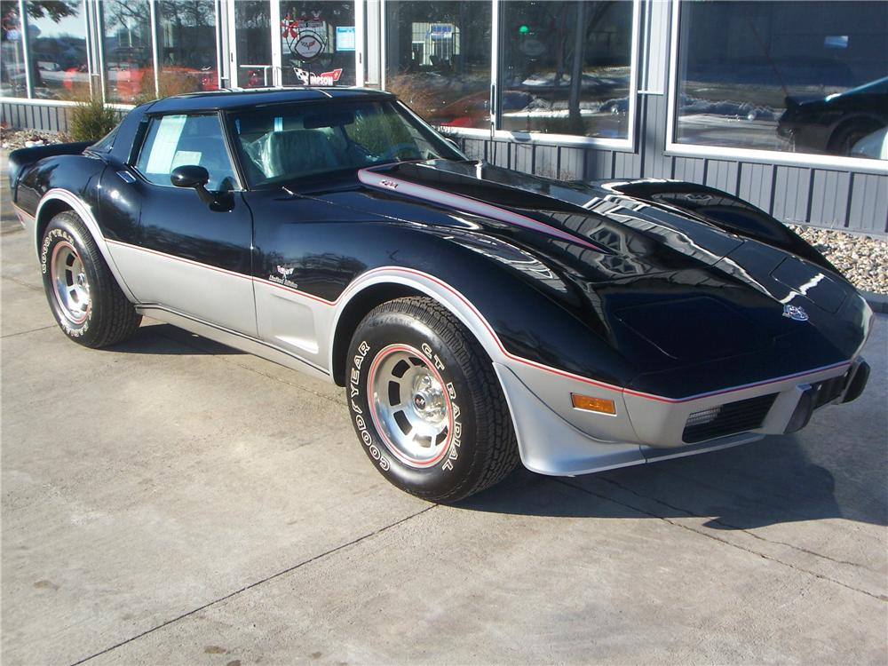 1978 CHEVROLET CORVETTE COUPE - Front 3/4 - 161992