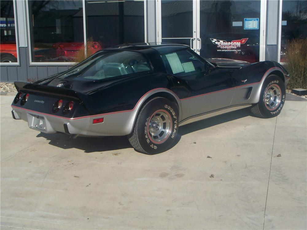 1978 CHEVROLET CORVETTE COUPE - Rear 3/4 - 161992