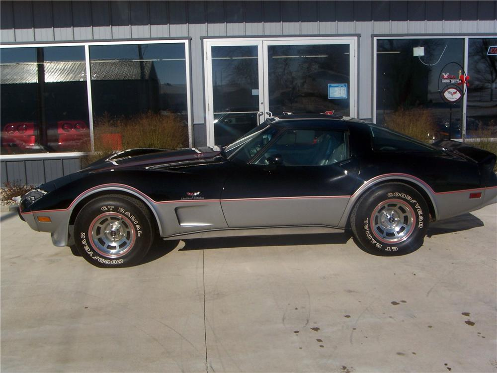 1978 CHEVROLET CORVETTE COUPE - Side Profile - 161992