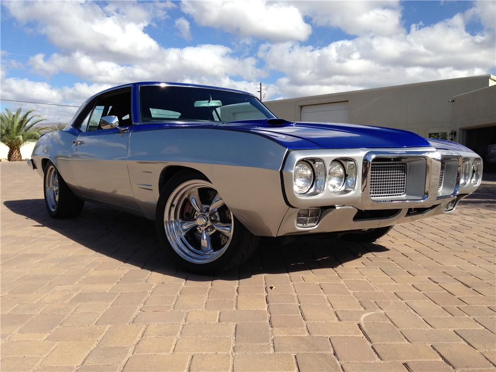 1969 PONTIAC FIREBIRD CUSTOM 2 DOOR COUPE - Front 3/4 - 161993