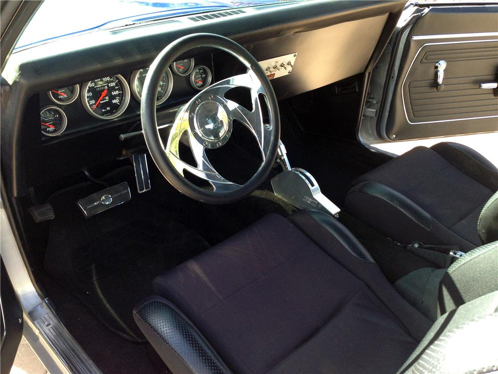 1969 PONTIAC FIREBIRD CUSTOM 2 DOOR COUPE - Interior - 161993