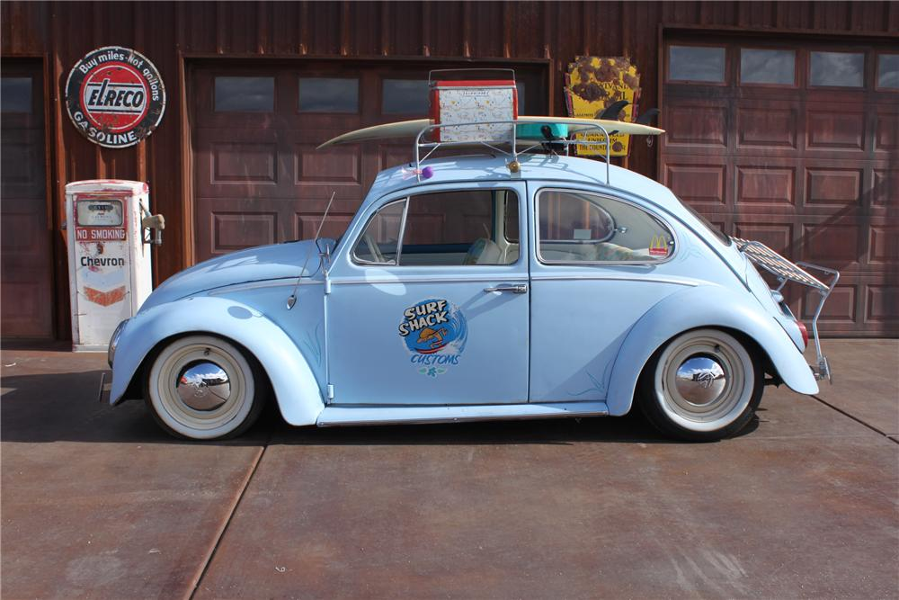 1966 Volkswagen Beetle Custom 2 Door Sedan 161998